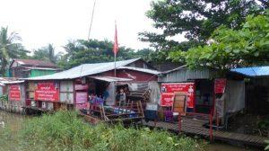 Bau einer Schule in Myanmar
