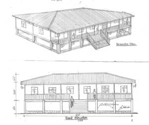 Bauplan der Schule
